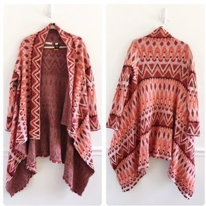 Sleeping on Snow patterned sweater
